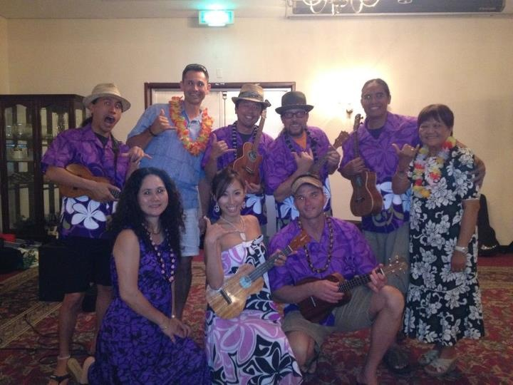 Okinawa Nurses Association Luau