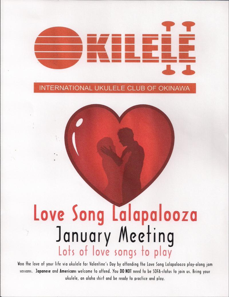 Okilele January Meeting Poster